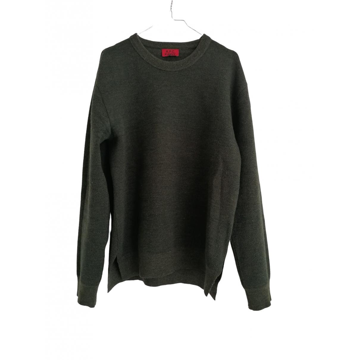 Apc \N Khaki Wool Knitwear & Sweatshirts for Men M International