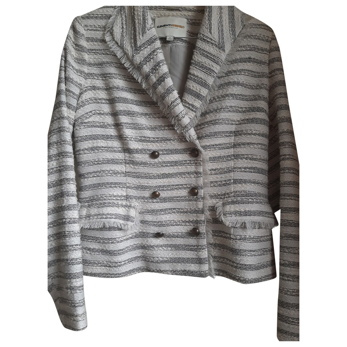 Clements Ribeiro \N Grey Cotton jacket for Women 38 FR