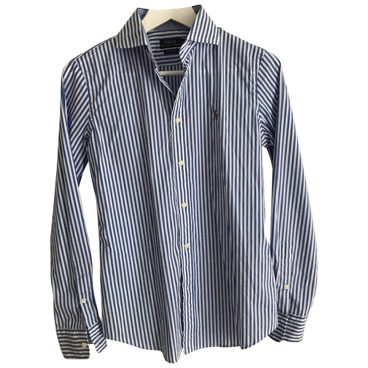 Polo Ralph Lauren \N Top in  Blau Baumwolle