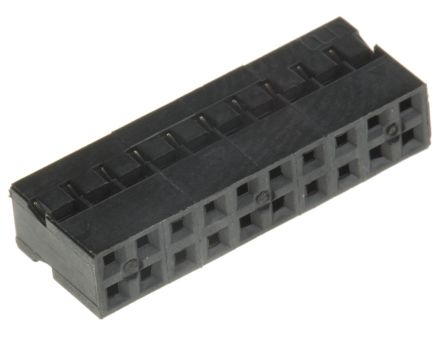 HARWIN , M22-30 Female Connector Housing, 2mm Pitch, 20 Way, 2 Row (10)