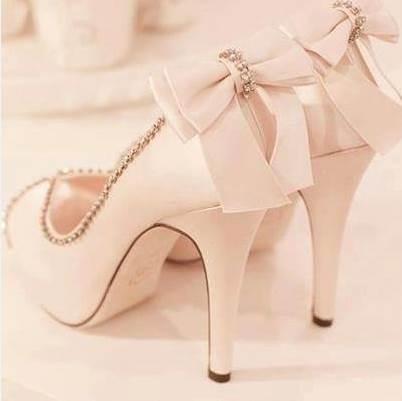 Ericdress Rhinestone Peep Toe Stiletto Heel Slip-On Wedding Shoes