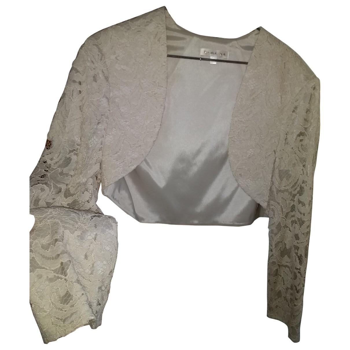 Paule Ka \N Beige Leather jacket for Women 40 FR