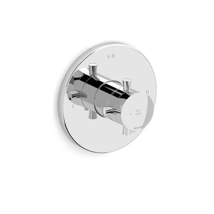 Edge TEDTM23C 2-Way Thermostatic/Pressure Balance Coaxial Valve Trim with Lever Handles  in