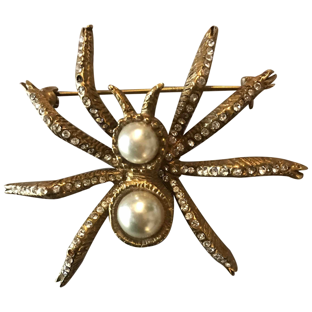 Valentino Garavani \N Gold Metal Pins & brooches for Women \N