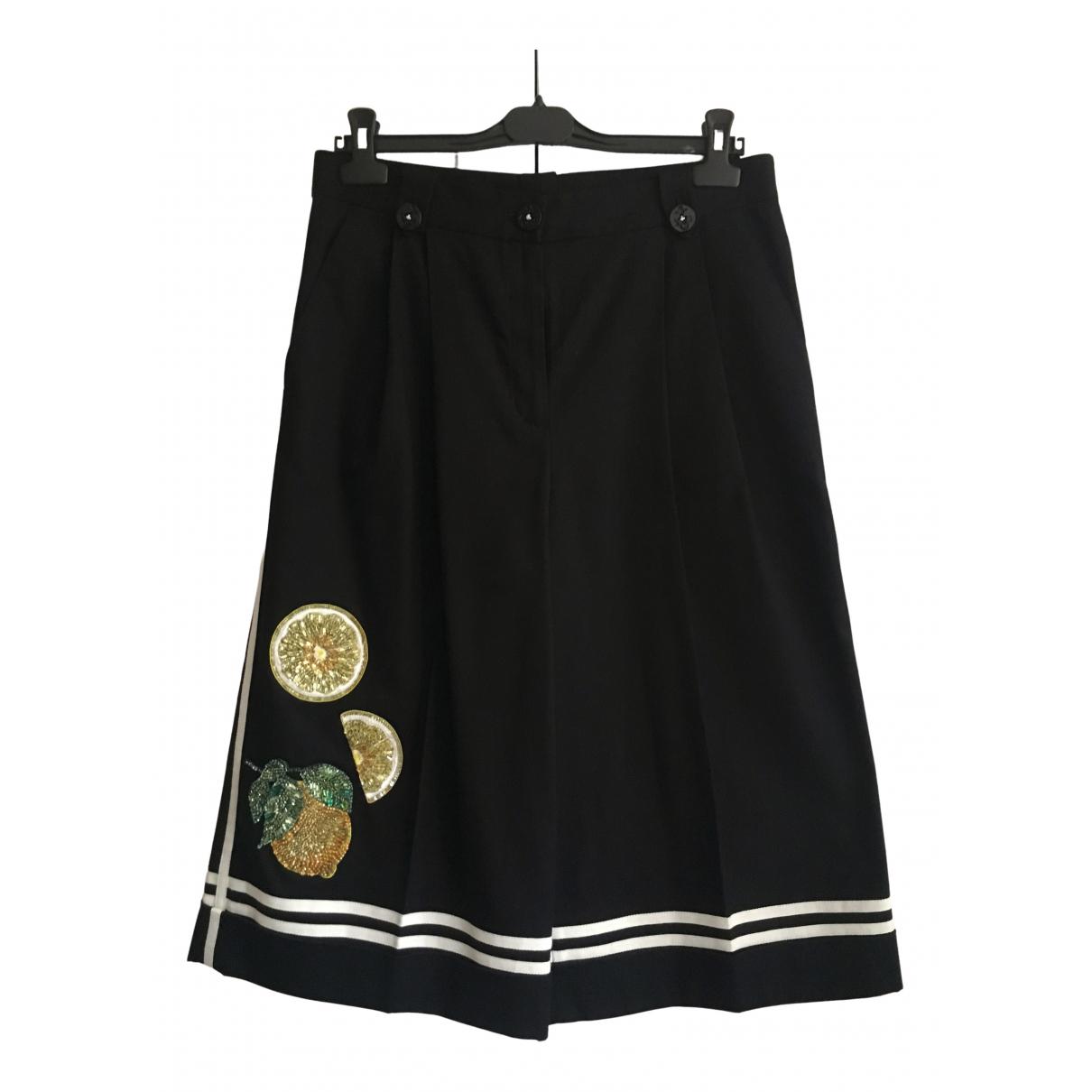 Dolce & Gabbana - Short   pour femme en coton - noir