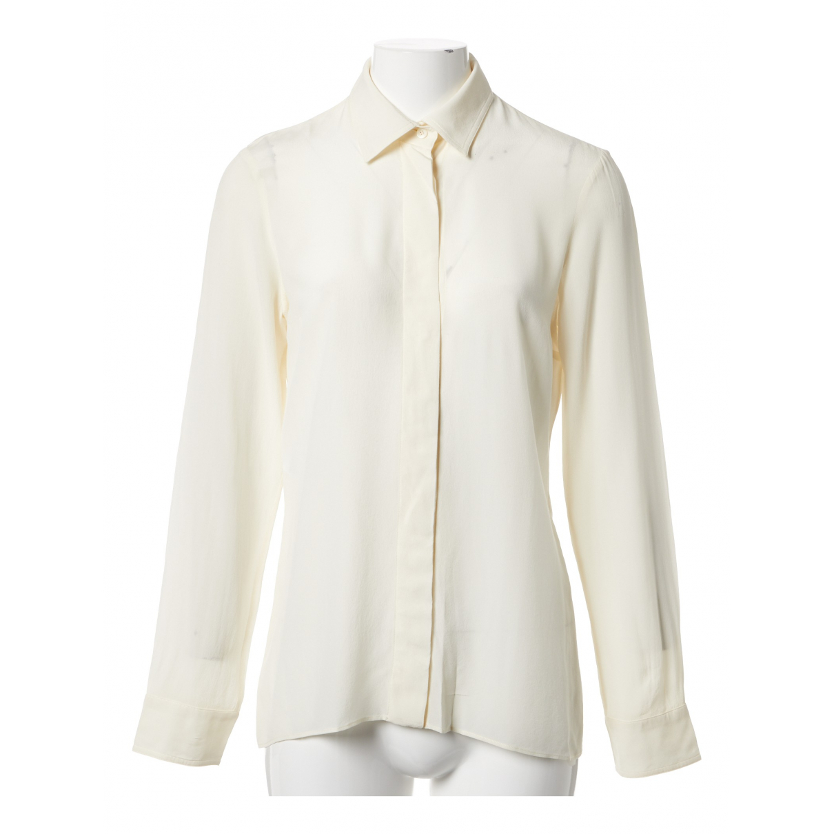 Gucci \N Ecru Silk  top for Women 42 IT
