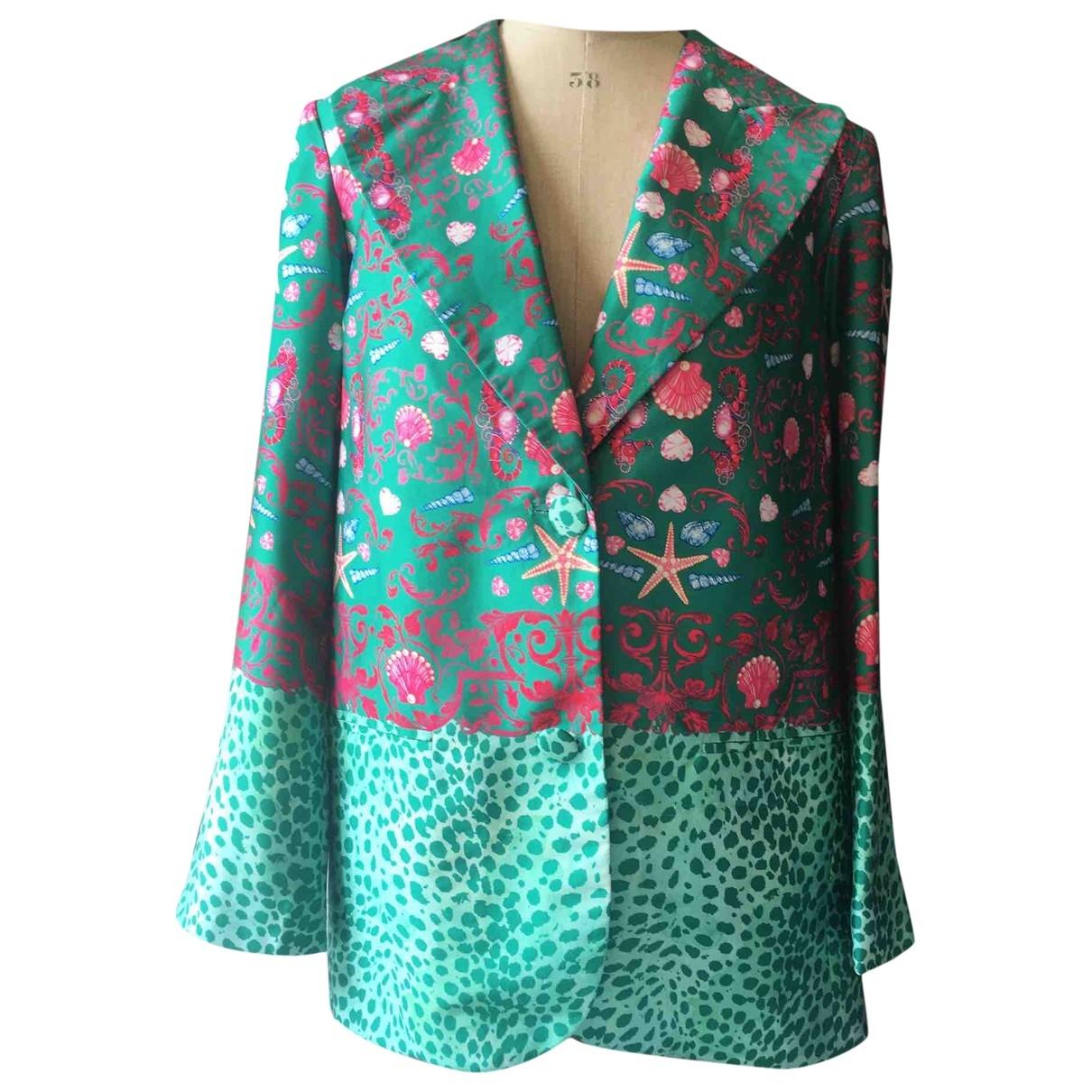 Manoush \N Jacke in  Gruen Polyester