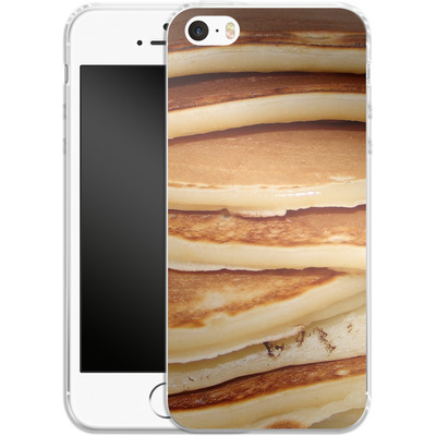 Apple iPhone 5 Silikon Handyhuelle - Pancakes von caseable Designs