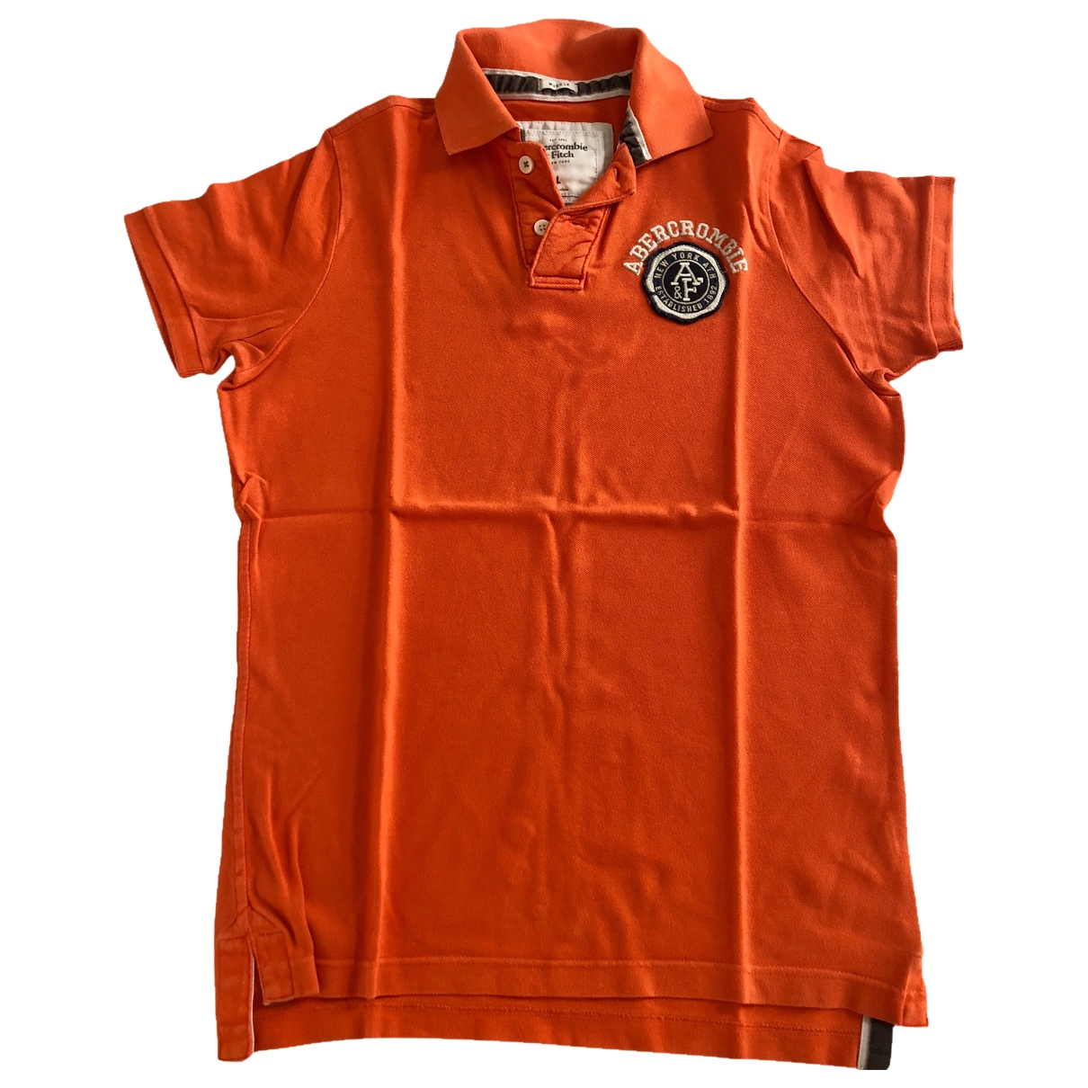 Abercrombie & Fitch \N Poloshirts in  Orange Baumwolle