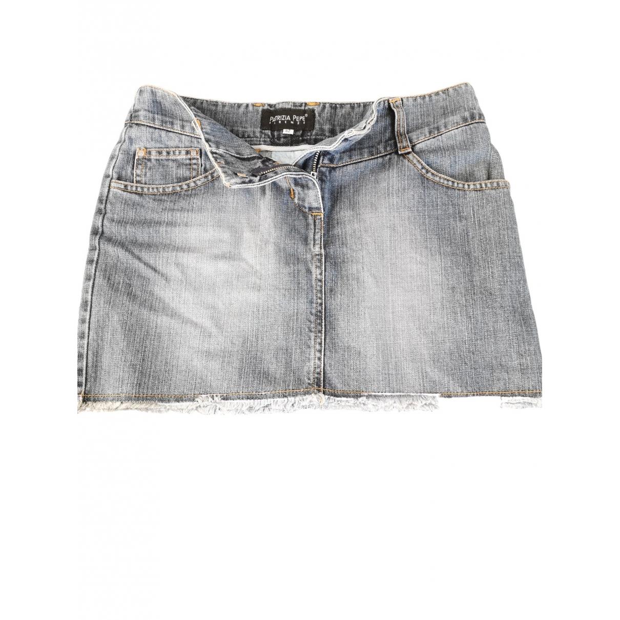 Patrizia Pepe \N Rocke in  Blau Denim - Jeans