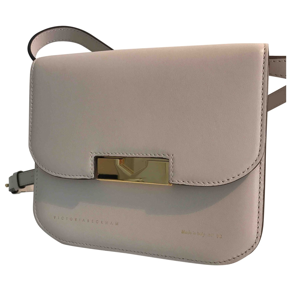 Victoria Beckham \N Ecru Leather handbag for Women \N