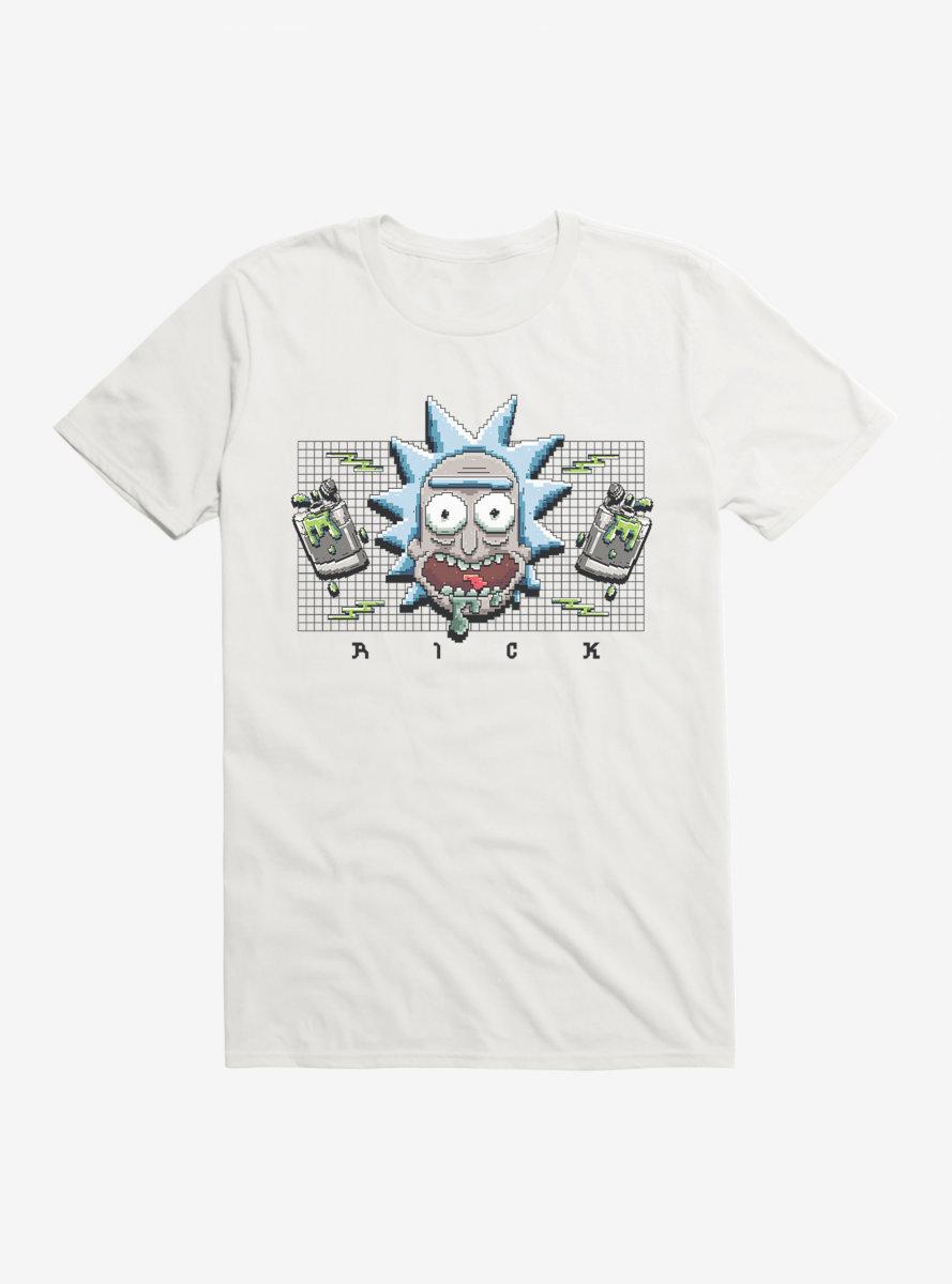 Rick And Morty 8-Bit Rick T-Shirt