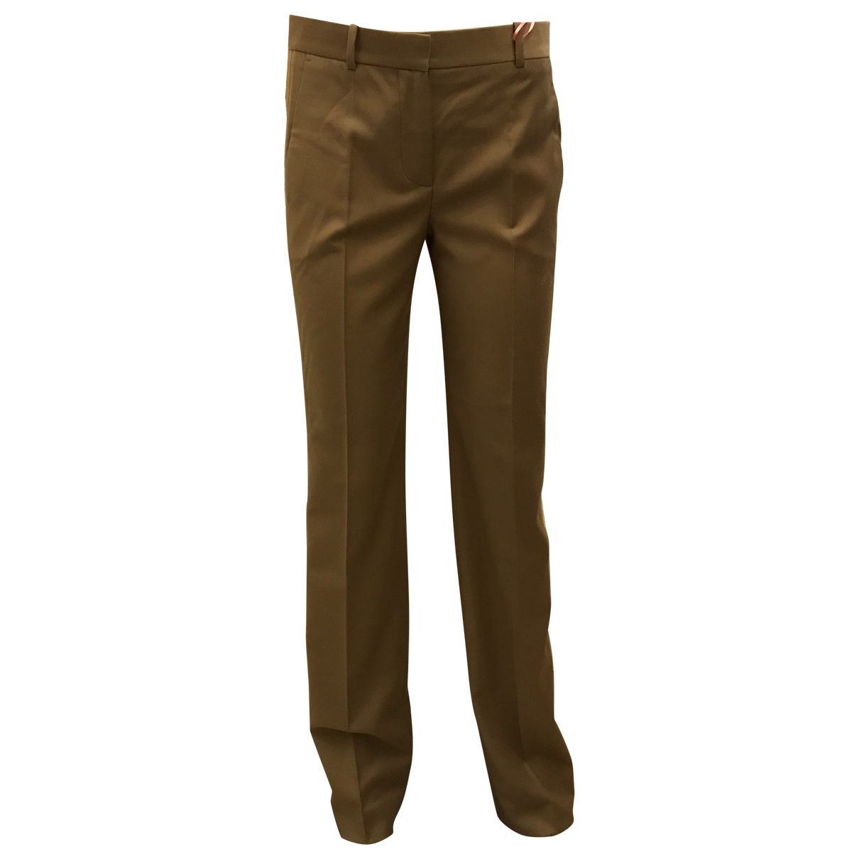 Givenchy \N Beige Wool Trousers for Women 36 FR