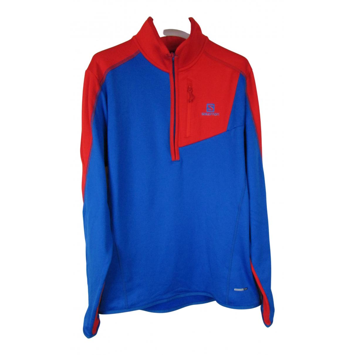 Salomon \N Pullover.Westen.Sweatshirts  in  Blau Polyester