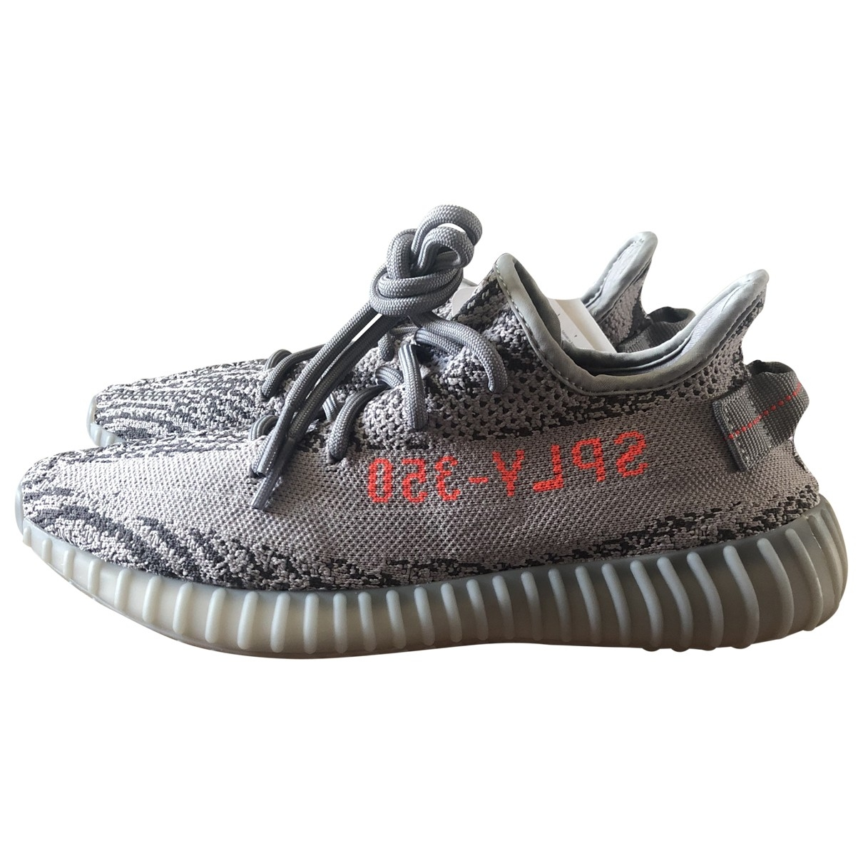 Yeezy X Adidas - Baskets   pour homme en toile - anthracite