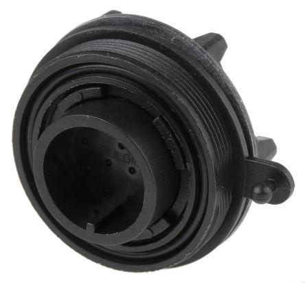 Bulgin Connector, 12 contacts Panel Mount Plug, Crimp, Solder IP68
