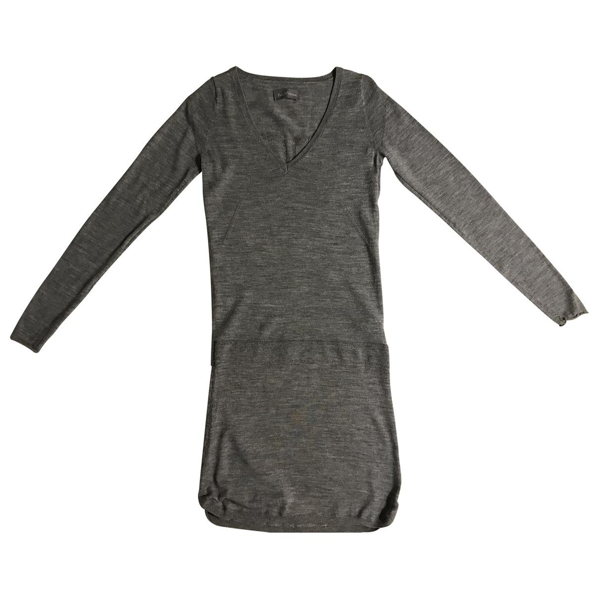 Zadig & Voltaire - Robe   pour femme en laine - gris