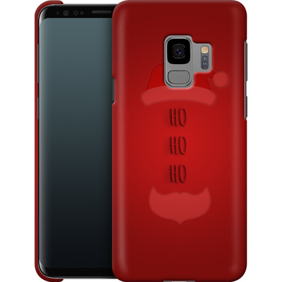 Samsung Galaxy S9 Smartphone Huelle - Ho Ho Ho von caseable Designs
