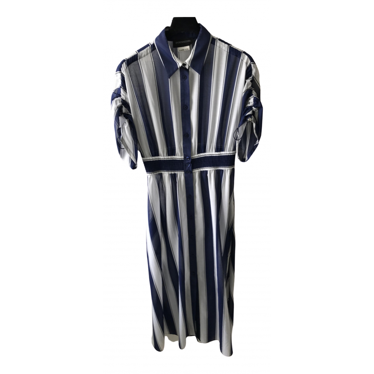 Sport Max \N Kleid in  Bunt Baumwolle