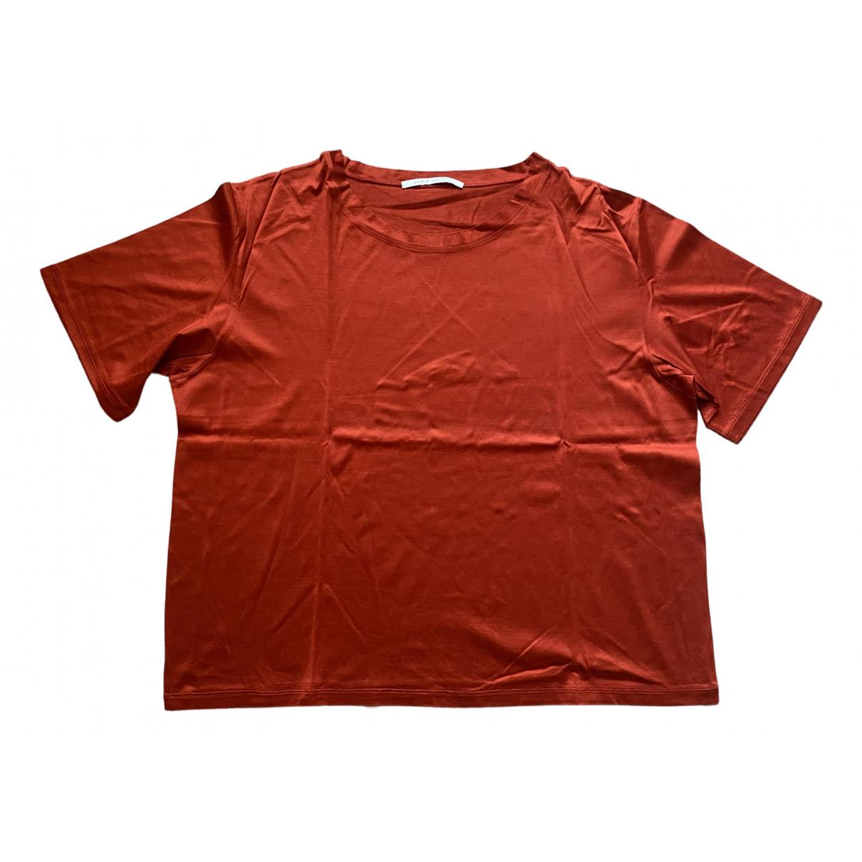 - Tee shirts Oversize pour homme en coton - rouge