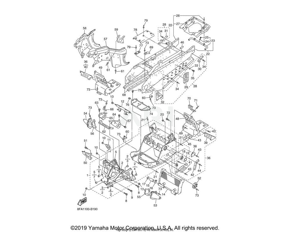 Yamaha OEM 8FA-21965-00-00 PATCH 5