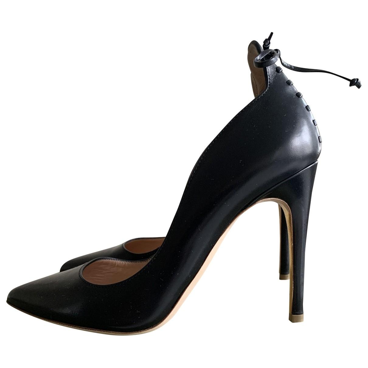 Rupert Sanderson - Escarpins   pour femme en cuir - noir