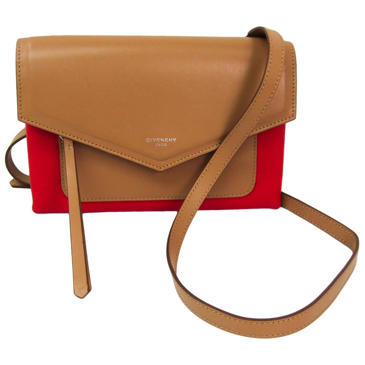 Givenchy \N Handtasche in  Beige Leder