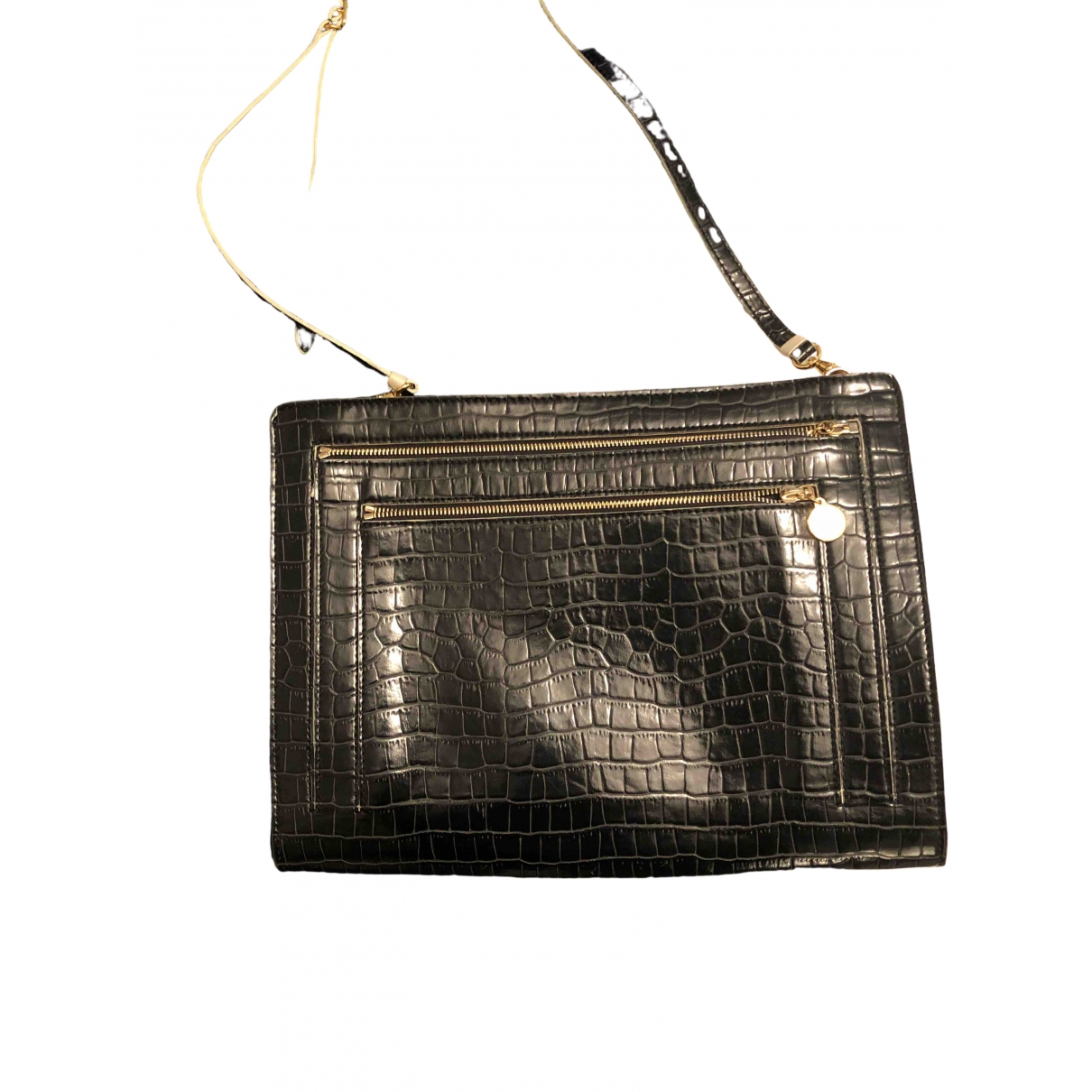 Stella Mccartney \N Clutch in  Schwarz Synthetik