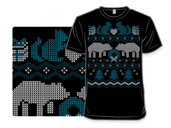 Ugly Holiday Sweater: 2012 T Shirt