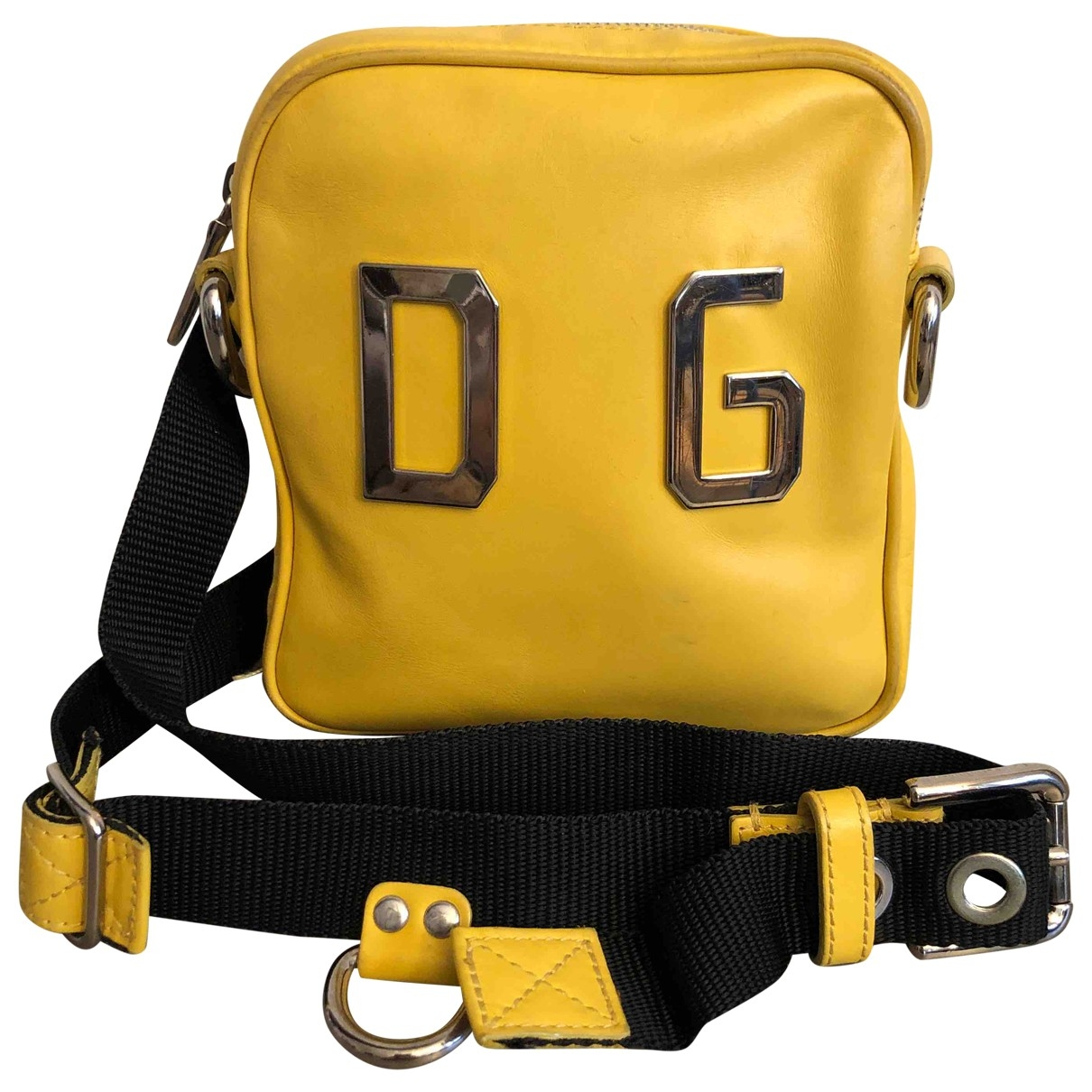Dolce & Gabbana \N Yellow Leather backpack for Women \N