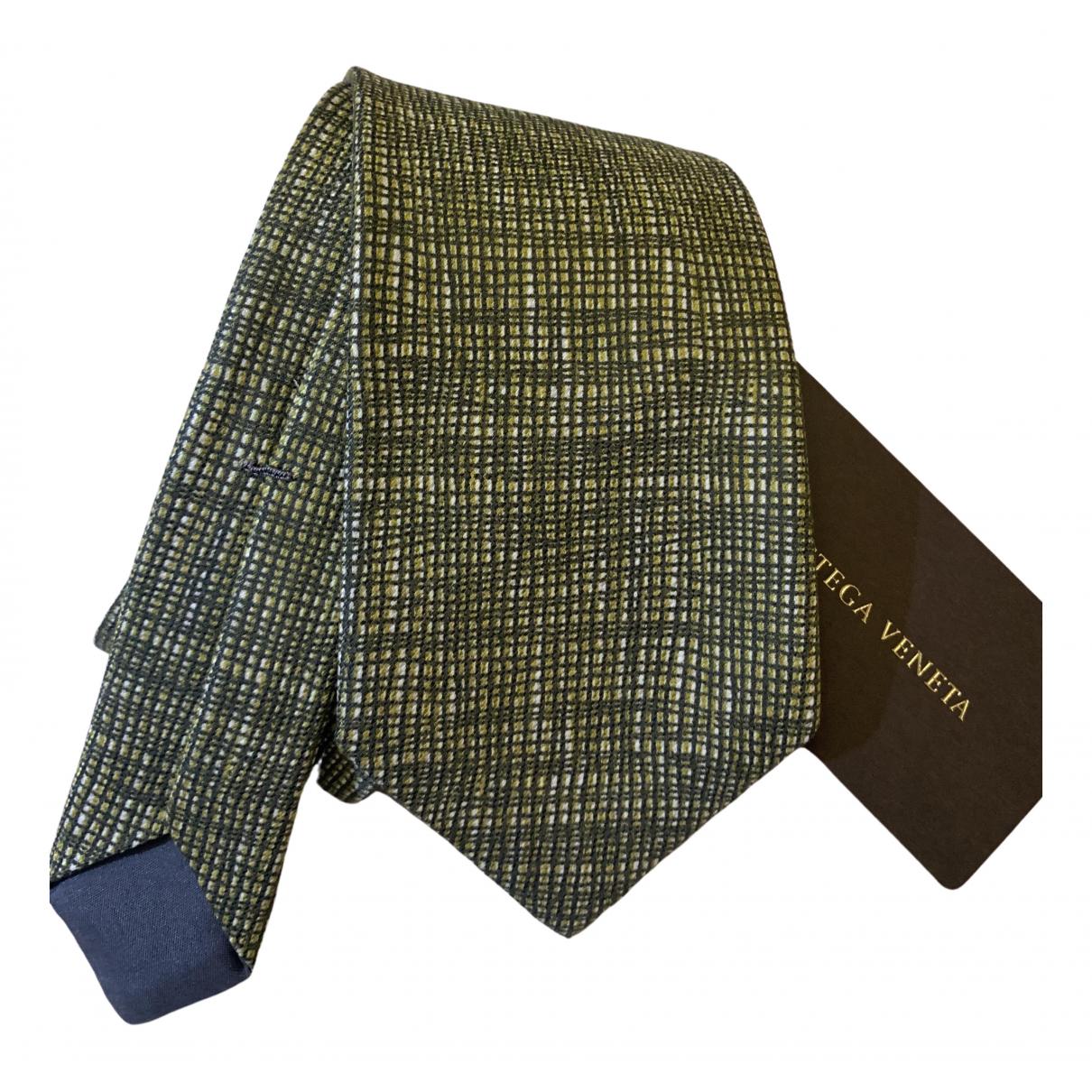 Bottega Veneta \N Krawatten in  Gruen Seide
