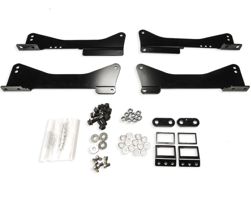 Brey Krause R-9224 Cobra Nogaro Seat Mounts For OEM Sliders BMW E46 | E85 | E86 | E36