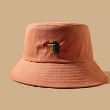 Embroidery Decor Bucket Hat