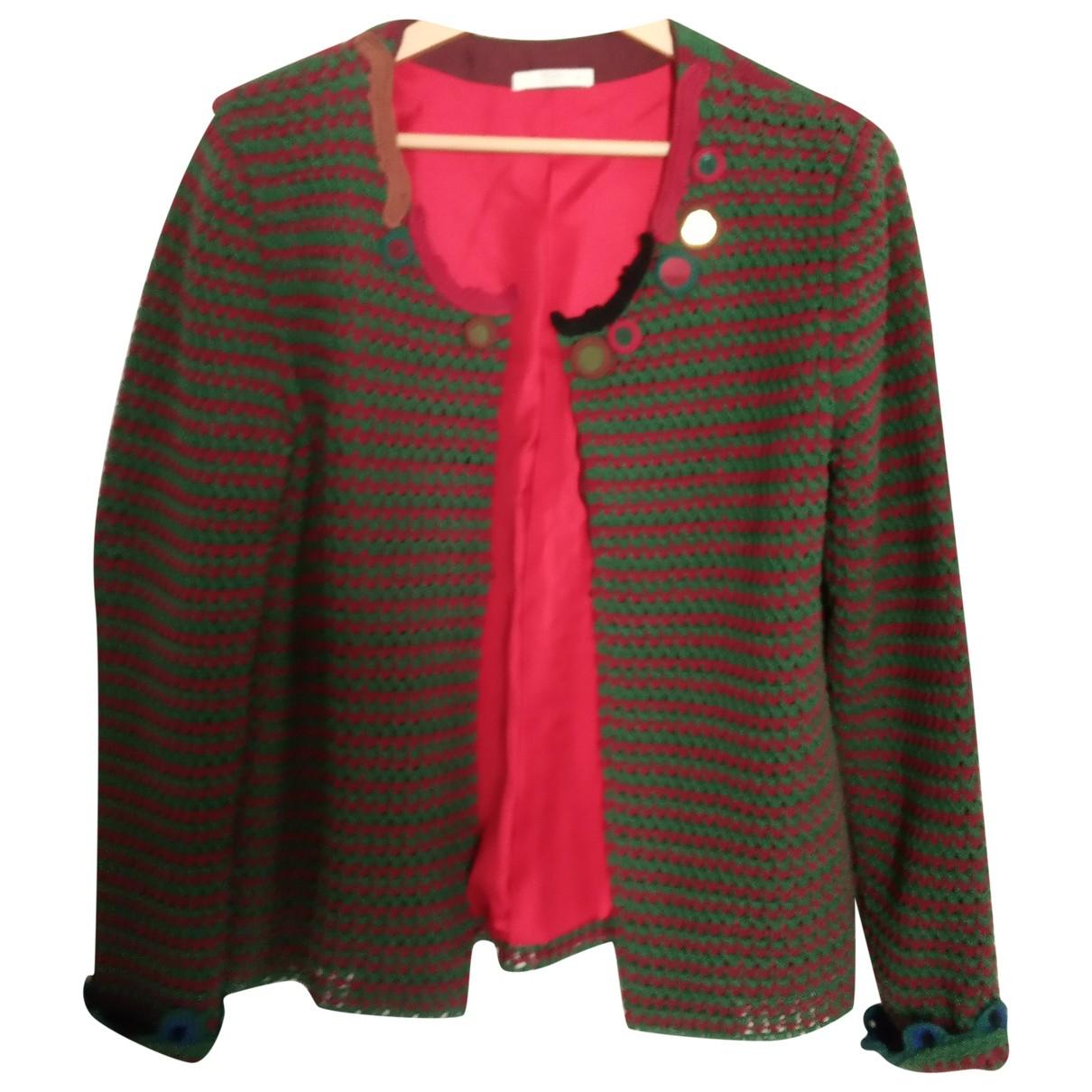 Prada - Veste   pour femme en coton - marron