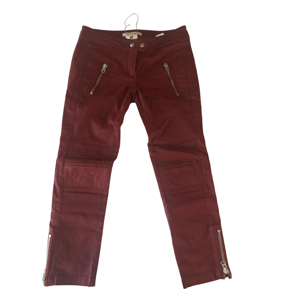 Isabel Marant Pour H&m \N Red Denim - Jeans Trousers for Women S International