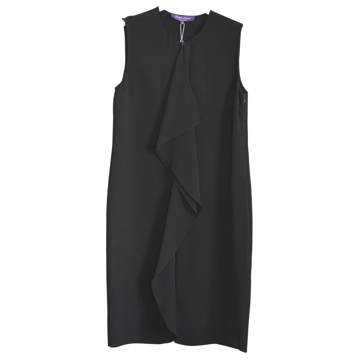 Ralph Lauren Purple Label \N Black Silk dress for Women 8 US