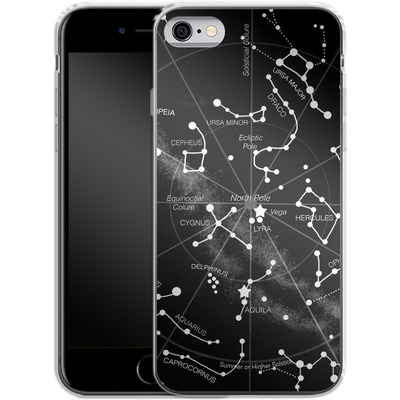 Apple iPhone 6s Silikon Handyhuelle - Constellations von Terry Fan