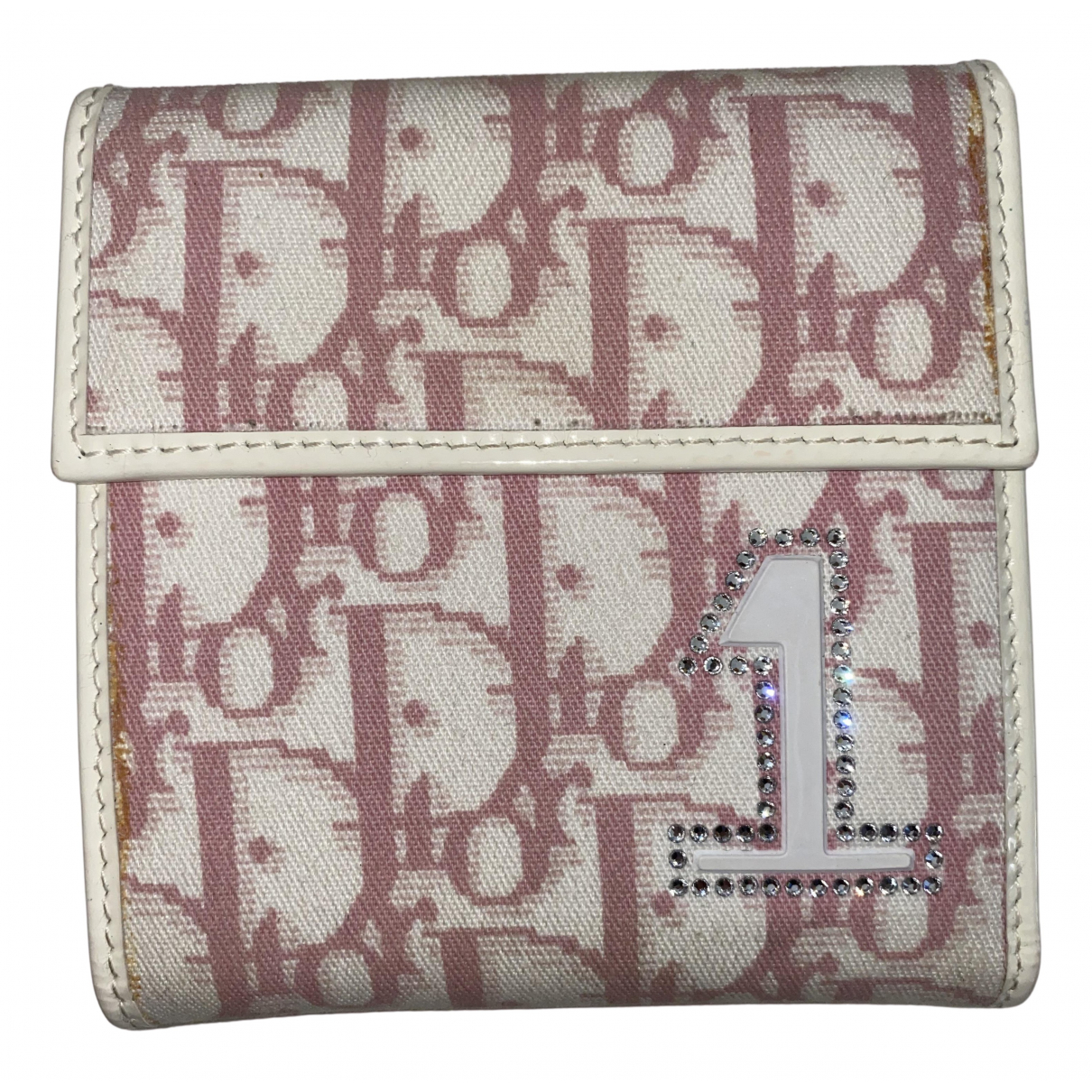 Dior N Pink Cloth wallet for Women N