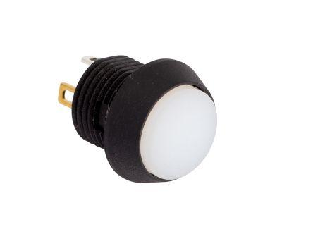 EOZ Single Pole Single Throw (SPST) Momentary Push Button Switch, IP67, 12 (Dia.)mm, Panel Mount, 5V