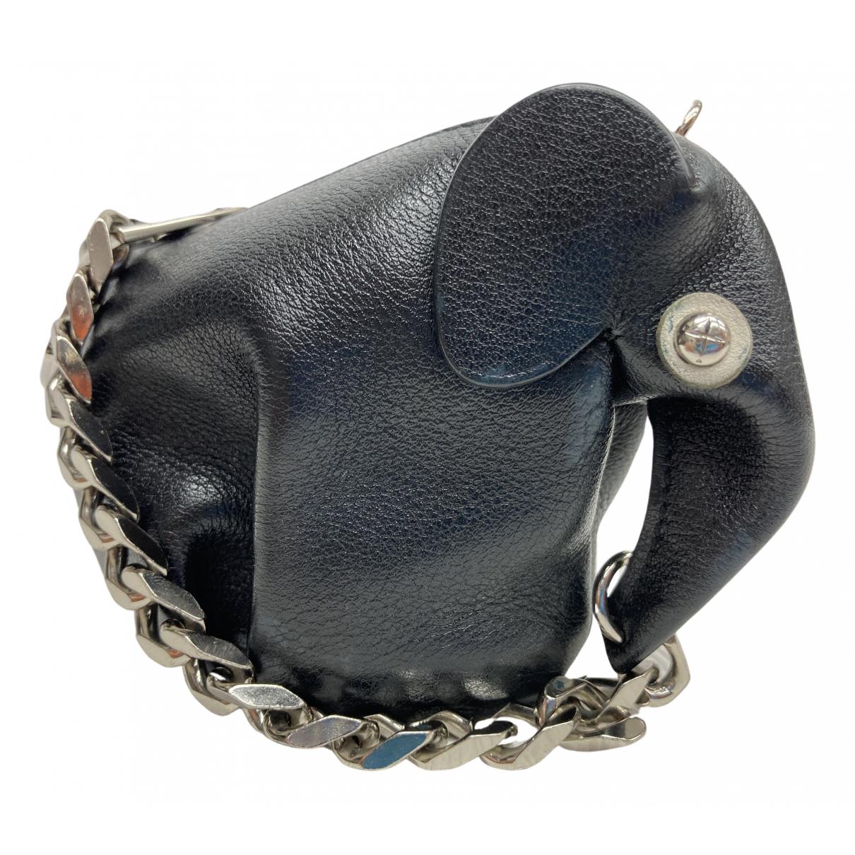 Loewe - Petite maroquinerie Animals pour femme en cuir - noir