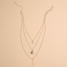 Bar Charm Layered Necklace