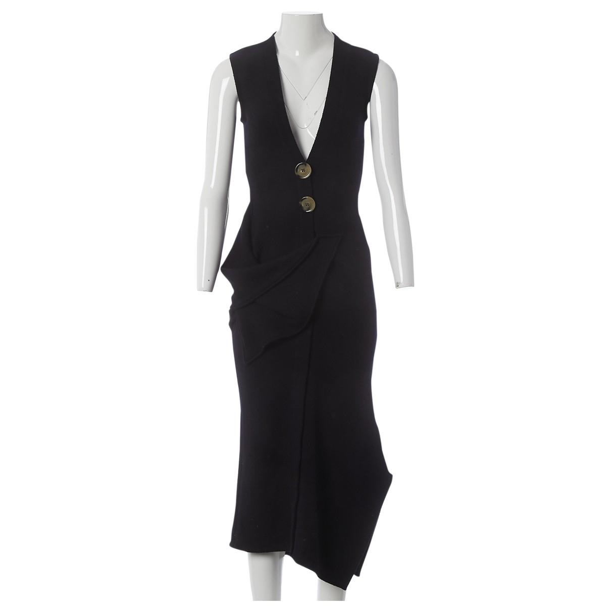 Victoria Beckham \N Black Wool dress for Women 8 UK