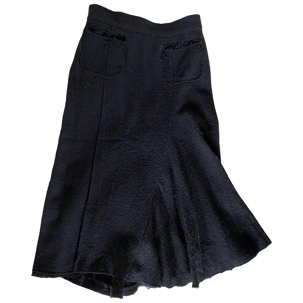 Nina Ricci \N Rocke in  Schwarz Tweed