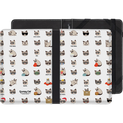 Kobo eReader Touch eBook Reader Huelle - Grumpy Cat Pattern von Grumpy Cat