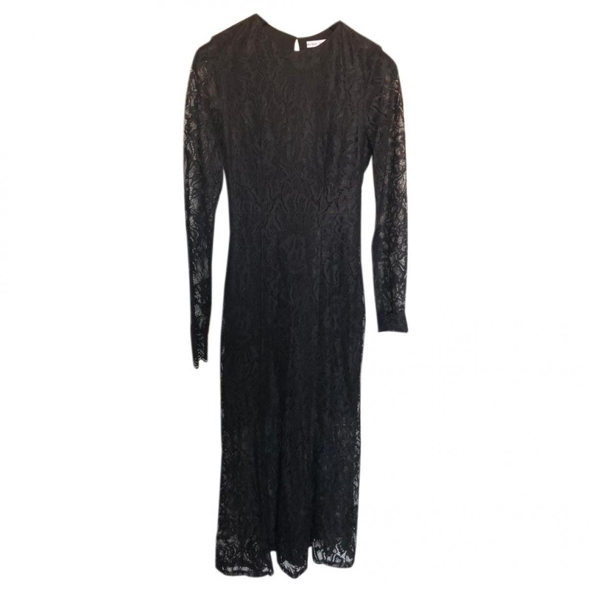 & Other Stories - Robe   pour femme en coton - noir