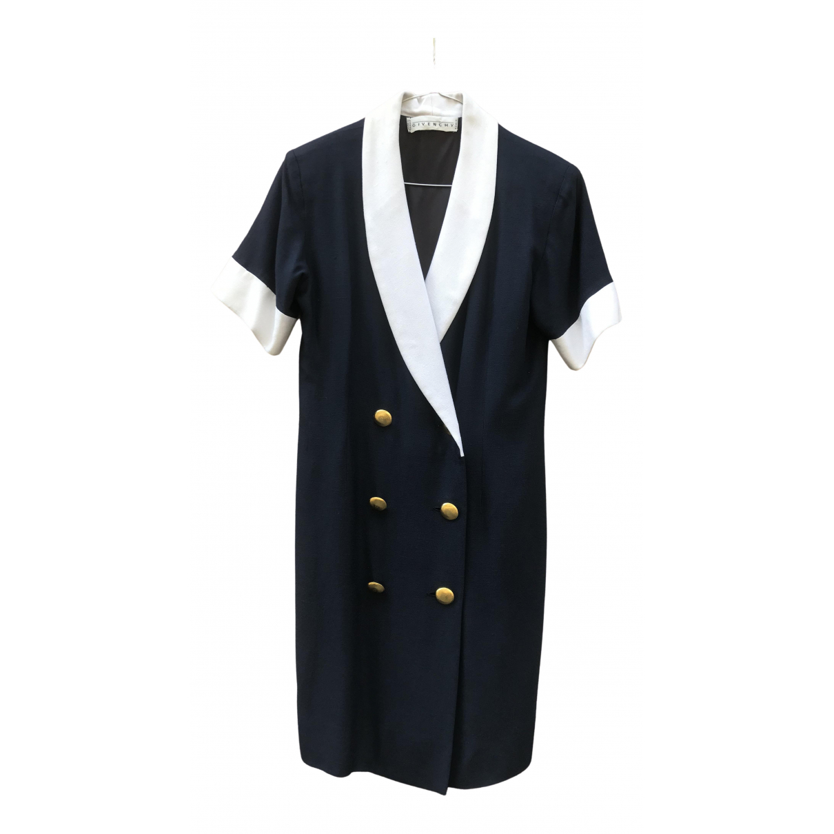 Givenchy \N Navy Cotton dress for Women 36 FR