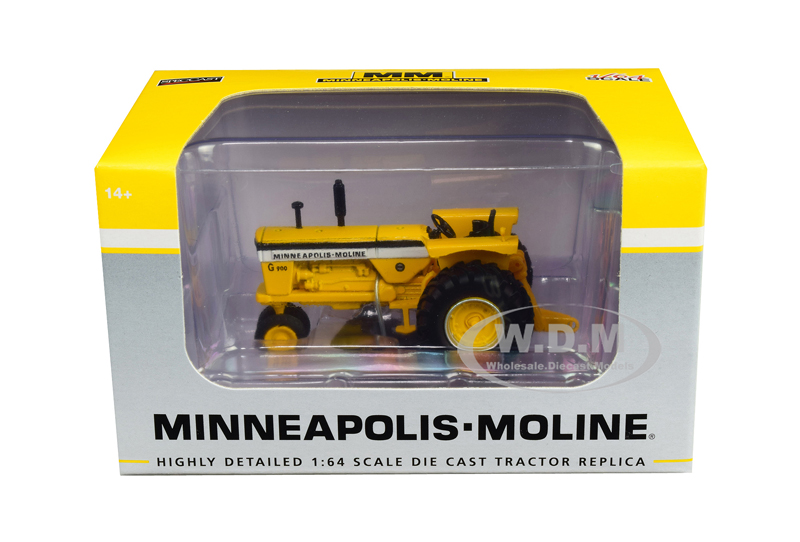 Minneapolis Moline G900 Narrow Front Tractor Yellow 1/64 Diecast Model by SpecCast