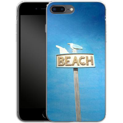 Apple iPhone 8 Plus Silikon Handyhuelle - Beach von Joy StClaire