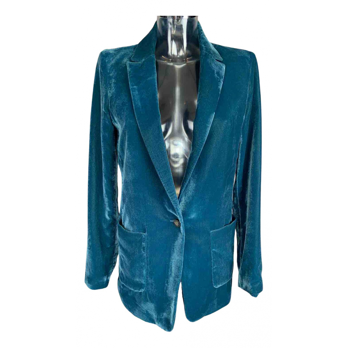 Set - Veste   pour femme - bleu