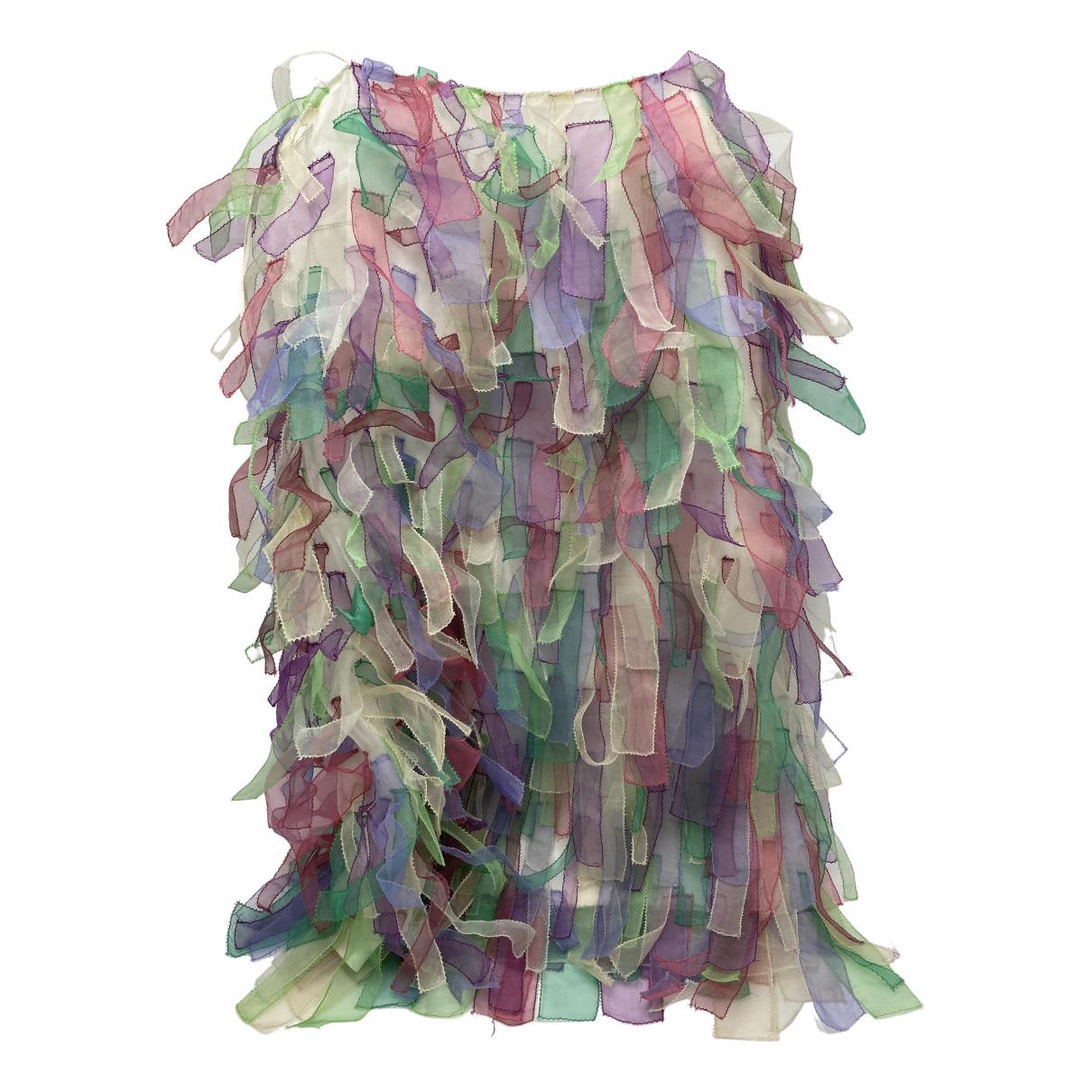 Emporio Armani \N Kleid in  Bunt Seide
